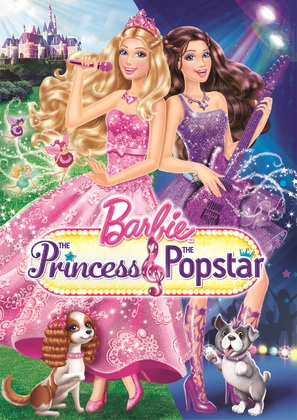 Barbie: The Princess & the Popstar - DVD cover (thumbnail)
