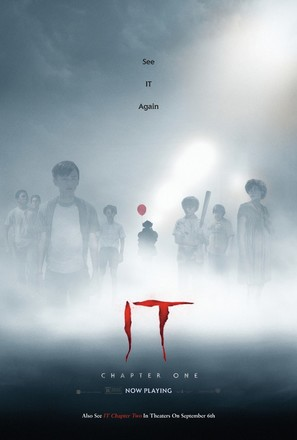 It - Re-release movie poster (thumbnail)