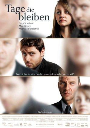 Tage die bleiben - German Movie Poster (thumbnail)