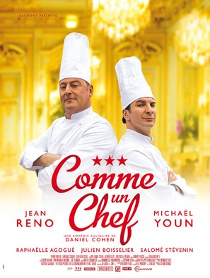 Comme un chef - French Movie Poster (thumbnail)