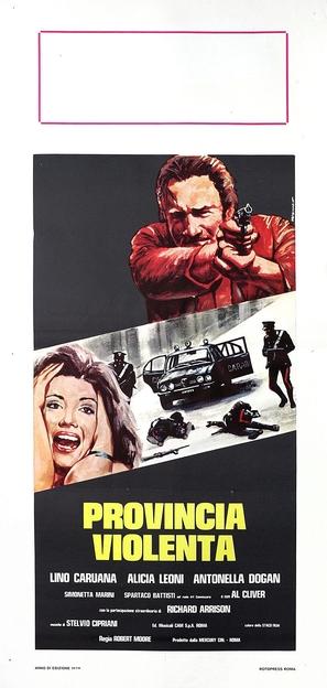 Provincia violenta - Italian Movie Poster (thumbnail)