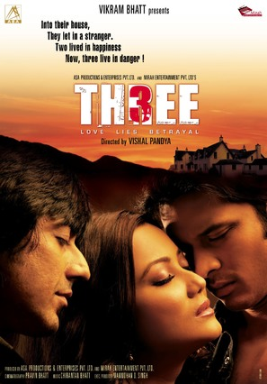 Three: Love Lies Betrayal - Indian Movie Poster (thumbnail)