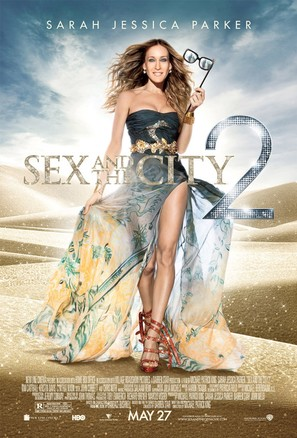 Sex and the City 2 - Movie Poster (thumbnail)