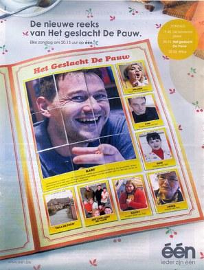 """""""Het geslacht De Pauw"""" - Belgian Movie Poster (thumbnail)"""