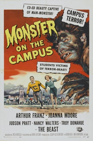 Monster on the Campus - Movie Poster (thumbnail)