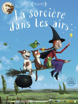 Room on the Broom - French Movie Poster (thumbnail)