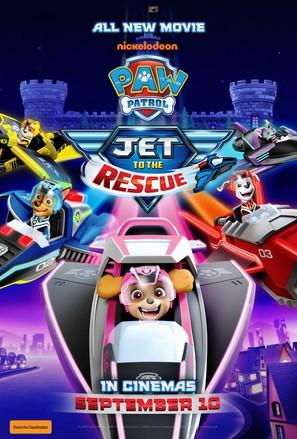 Paw Patrol: Jet To The Rescue - Australian Movie Poster (thumbnail)