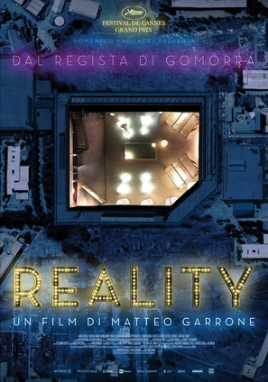 Reality - Italian Movie Poster (thumbnail)