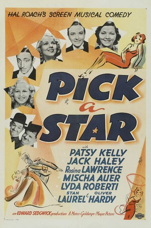 Pick a Star - Movie Poster (thumbnail)