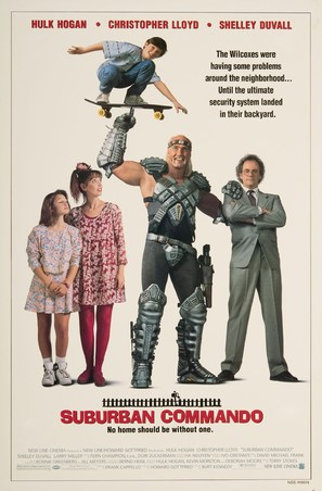 Suburban Commando - Movie Poster (thumbnail)