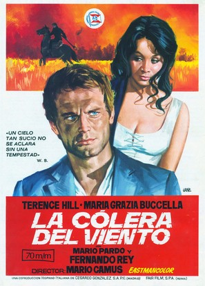 La collera del vento - Spanish Movie Poster (thumbnail)