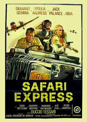 Safari Express - Italian Movie Poster (thumbnail)