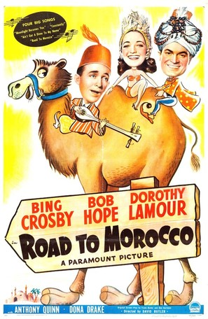 Road to Morocco - Movie Poster (thumbnail)
