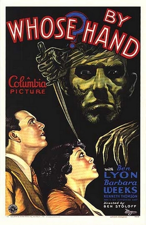 By Whose Hand? - Movie Poster (thumbnail)