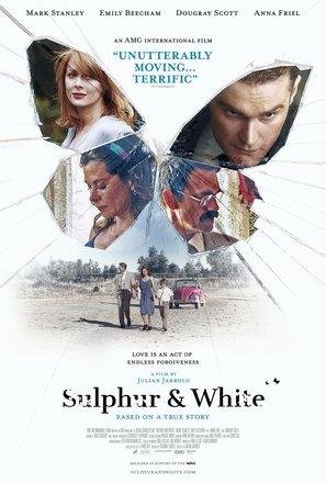 Sulphur and White - British Movie Poster (thumbnail)