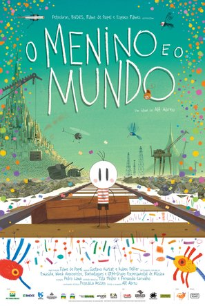 O Menino e o Mundo - Brazilian Movie Poster (thumbnail)