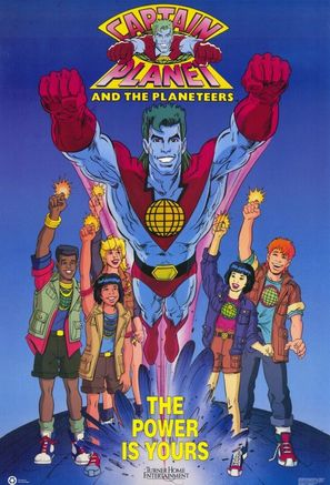 """Captain Planet and the Planeteers"" - Movie Poster (thumbnail)"