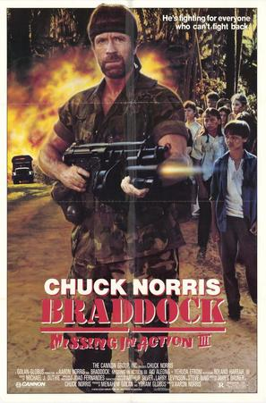 Braddock: Missing in Action III - Movie Poster (thumbnail)