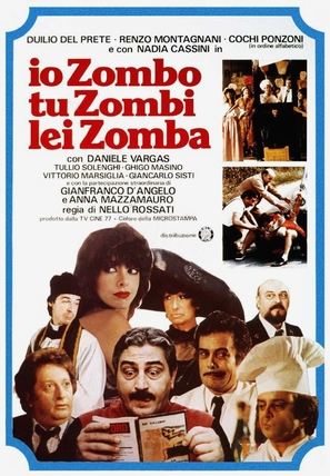 Io zombo, tu zombi, lei zomba - Italian Theatrical movie poster (thumbnail)