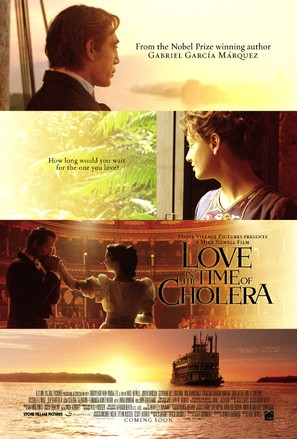Love in the Time of Cholera - Movie Poster (thumbnail)