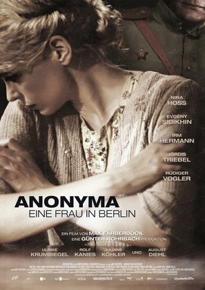 Anonyma - Eine Frau in Berlin - German Movie Poster (thumbnail)