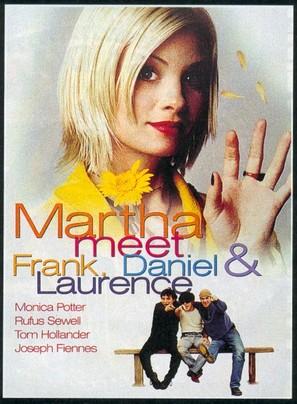 Martha, Meet Frank, Daniel and Laurence - British Movie Poster (thumbnail)