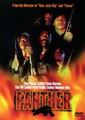 Panther - DVD movie cover (thumbnail)