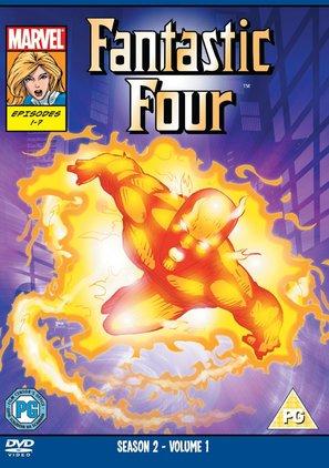 """Fantastic Four"" - British DVD cover (thumbnail)"