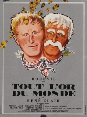 Tout l'or du monde - French Movie Poster (thumbnail)