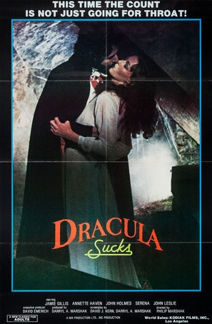 Dracula Sucks - Movie Poster (thumbnail)