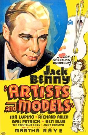 Artists & Models - Movie Poster (thumbnail)