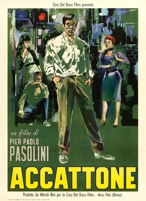 Accattone - Italian Movie Poster (thumbnail)