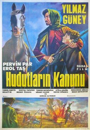 Hudutlarin kanunu - Turkish Movie Poster (thumbnail)