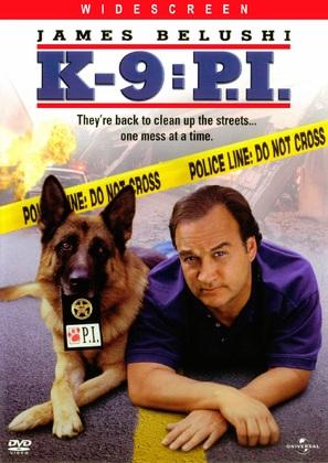 K-9: P.I. - DVD movie cover (thumbnail)