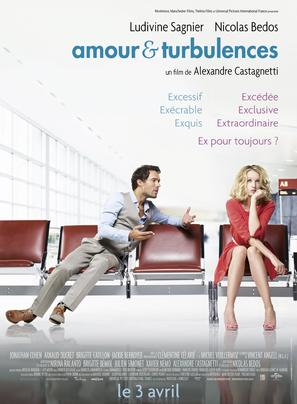 Amour et turbulences - French Movie Poster (thumbnail)