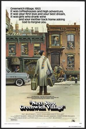 Next Stop, Greenwich Village - Movie Poster (thumbnail)