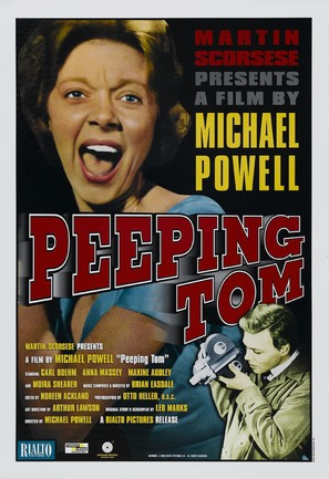 Peeping Tom - Re-release movie poster (thumbnail)