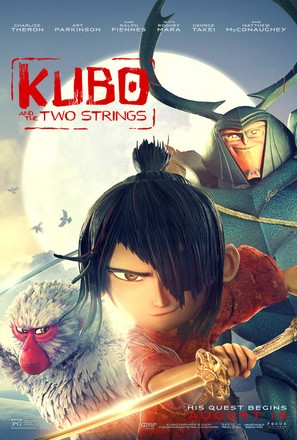 Kubo and the Two Strings - Theatrical movie poster (thumbnail)