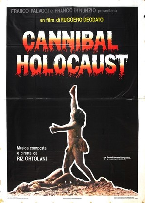 Cannibal Holocaust - Italian Movie Poster (thumbnail)