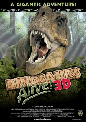 Dinosaurs Alive - Movie Poster (thumbnail)