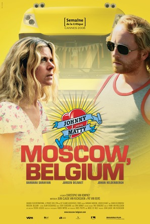Aanrijding in Moscou - Belgian Movie Poster (thumbnail)