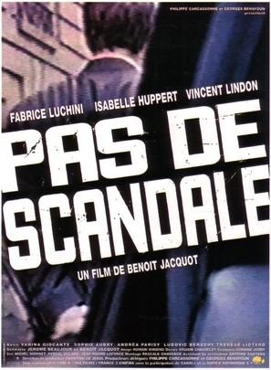 Pas de scandale - French Movie Poster (thumbnail)