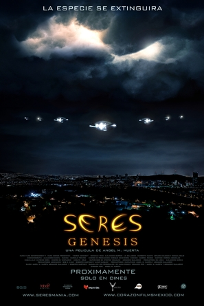 Seres: Genesis - Mexican Movie Poster (thumbnail)