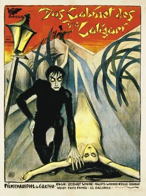 Das Cabinet des Dr. Caligari. - German Movie Poster (thumbnail)