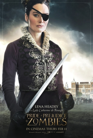 Pride and Prejudice and Zombies - British Movie Poster (thumbnail)