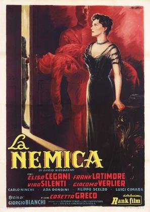 Nemica, La - Italian Movie Poster (thumbnail)