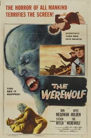 The Werewolf - Movie Poster (thumbnail)