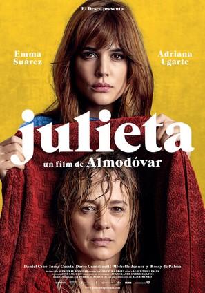 Julieta - Spanish Movie Poster (thumbnail)