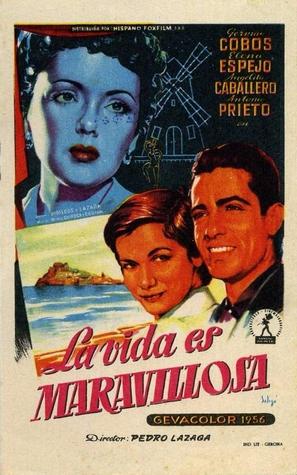 La vida es maravillosa - Spanish Movie Poster (thumbnail)