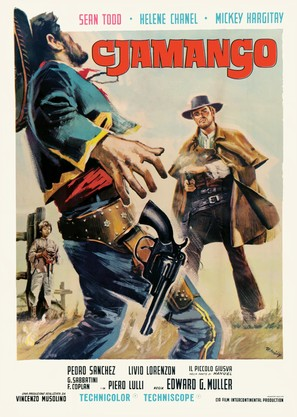 Cjamango - Italian Movie Poster (thumbnail)